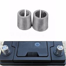 Battery Terminal Adapters to convert thin  battery terminals into standard thick ones , converts small JIS battery terminals to the standard large SAE size Lead PB material.  Battery pole adapter for Japanese vehicles Connection